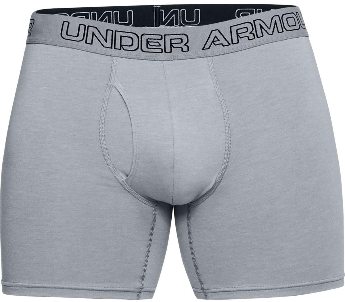 Boxerky Under Armour Charged Cotton (3ks), L